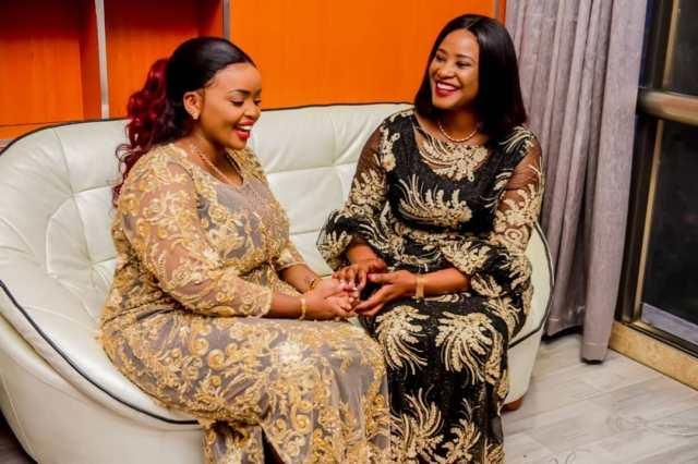 Kanze Dena with Rev. Lucy Natasha