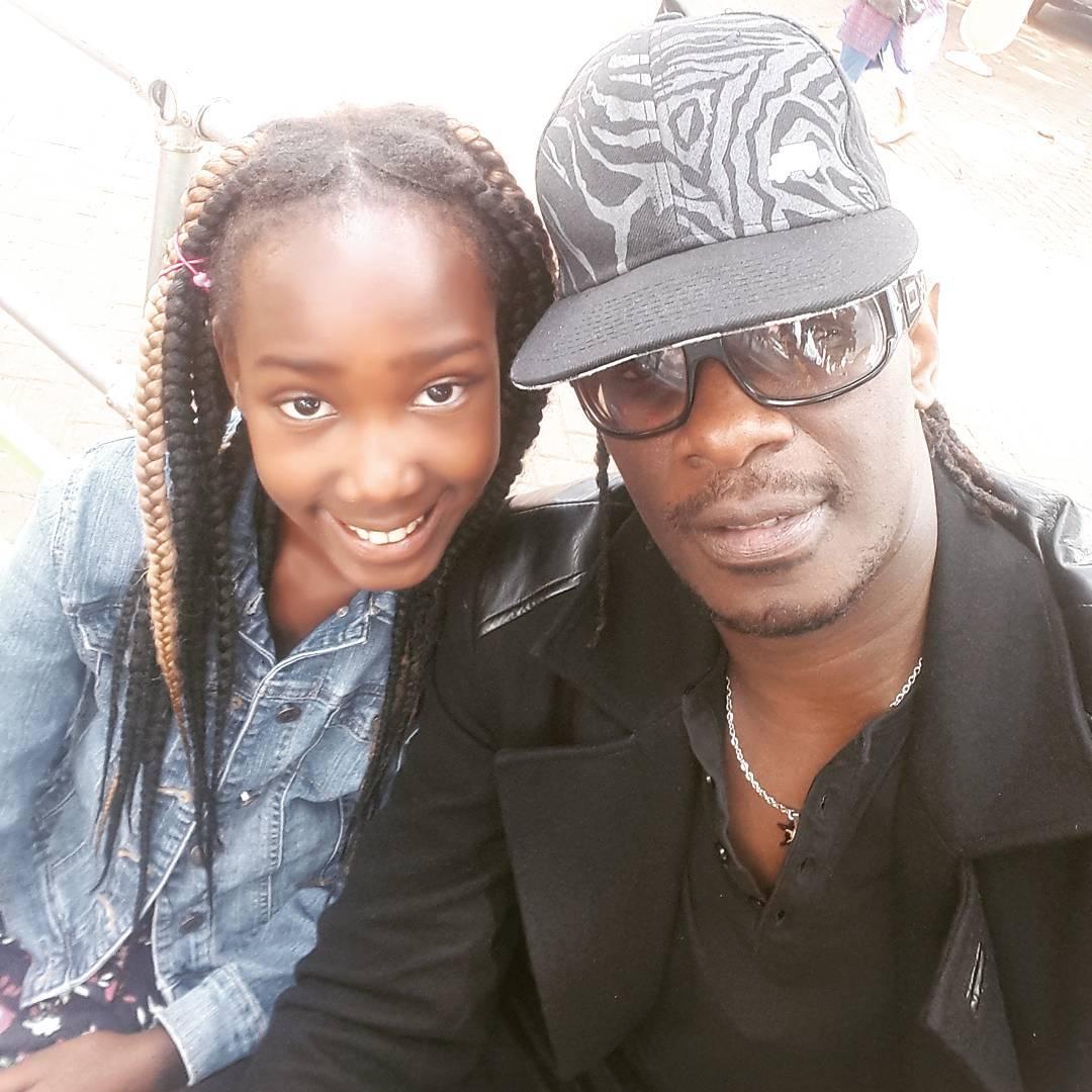Nameless. Kenyan celebrities whose kids have unique names