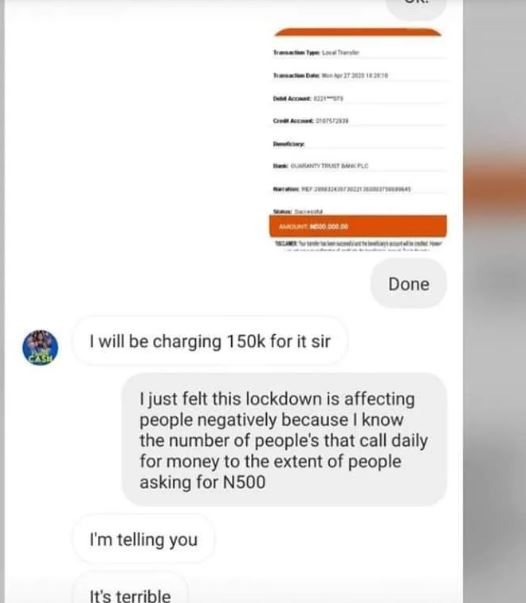 Eniola Badmus' Alleged Conversation With The Sponsor [Laila]