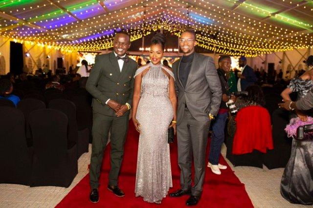Sarah Hassan, Pascal Tokodi turn heads in elegant outfits at Kalasha awards [Photos]