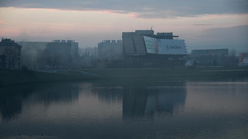 Mgła Smog Kraków
