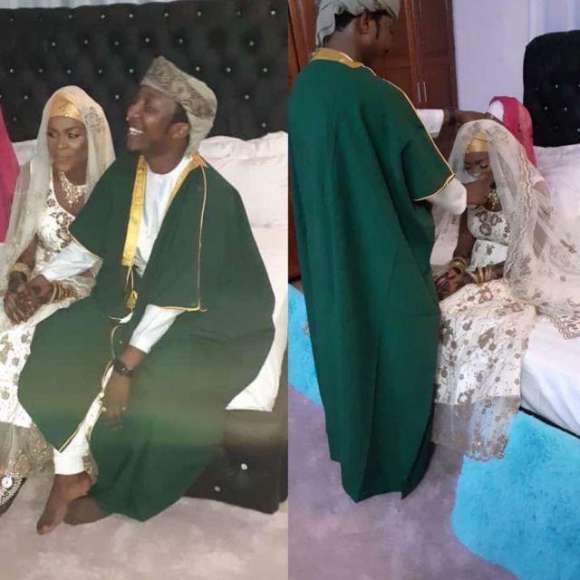 Queen Darleen with her man. Diamond's sister Queen Darleen married as wife number 2 (Photos)