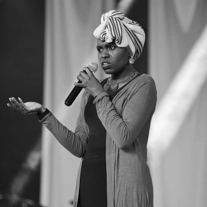 Comedian Zainabu Zeddy