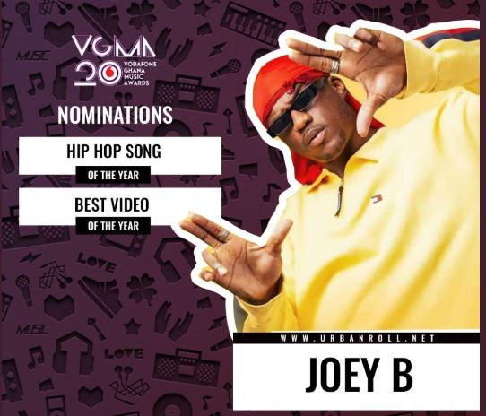 Joey B 2019 VGMAs nominations (Photo Credit: Urban Roll)