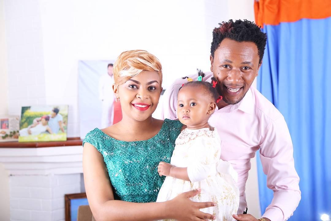 DJ Mo. Kenyan celebrities whose kids have unique names