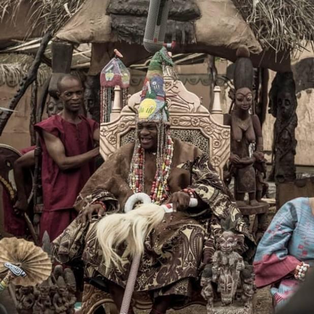 BTS from 'Ogundabede' film produced by Femi Adebayo Salami [Instagram/femiadebayosalami]