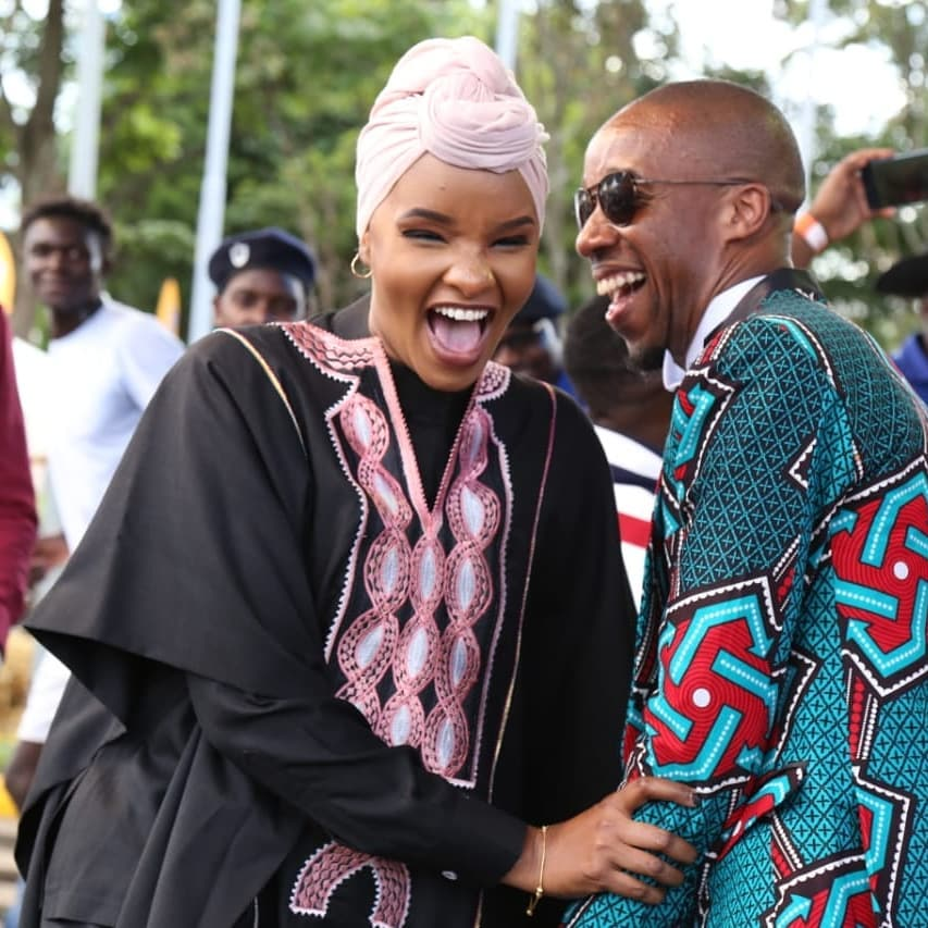 Lulu Hassan opens up on challenges of anchoring news with Hubby Rashid Abdalla