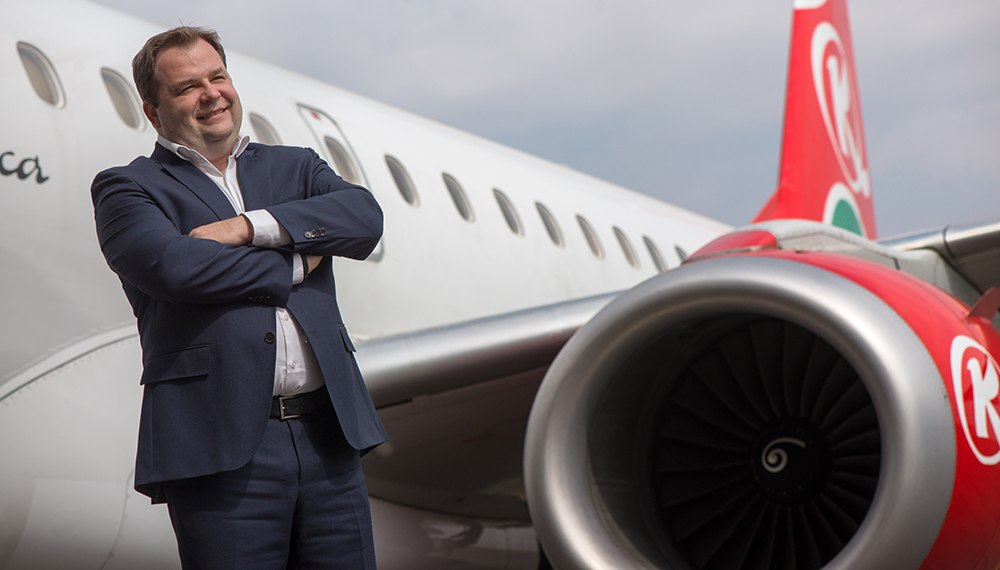 Kenya Airways CEO Sebastian Mikosz