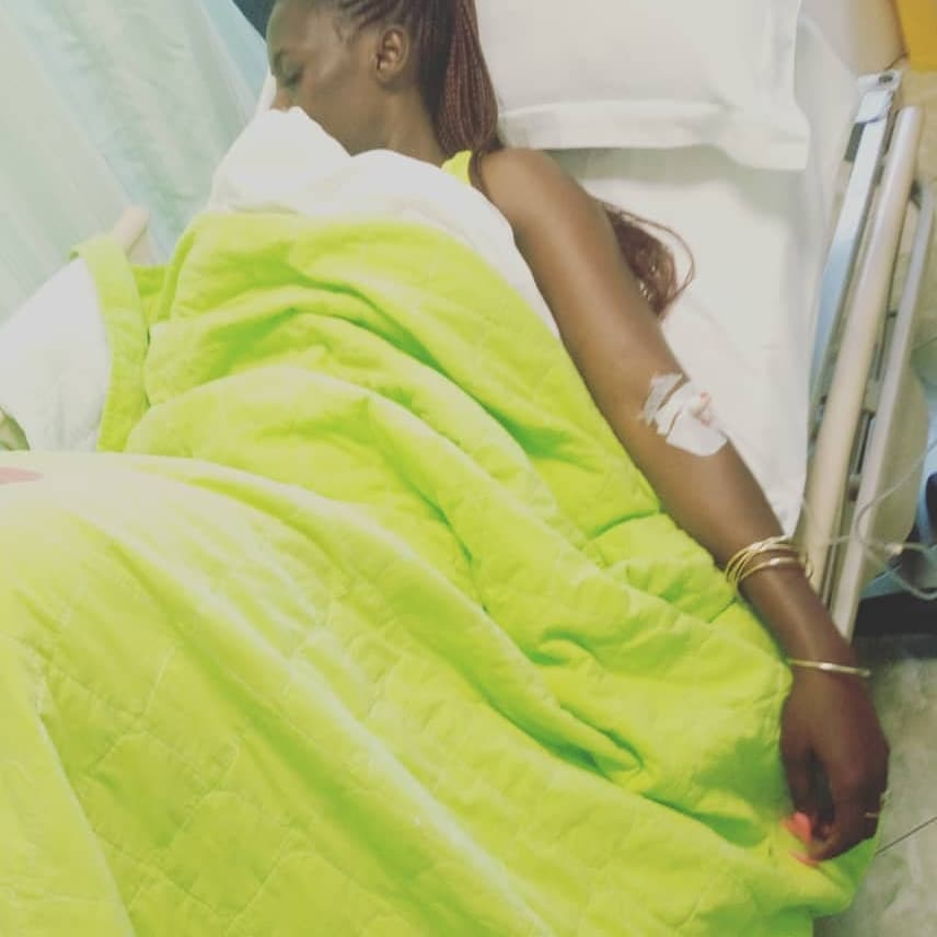 Akothee's message to Janet Mbugua, Lillian Muli and Zari from her from Hospital
