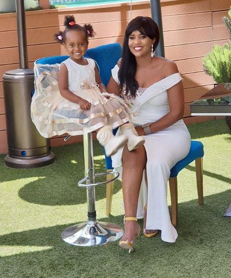 Pierra Makena. Kenyan celebrities whose kids have unique names