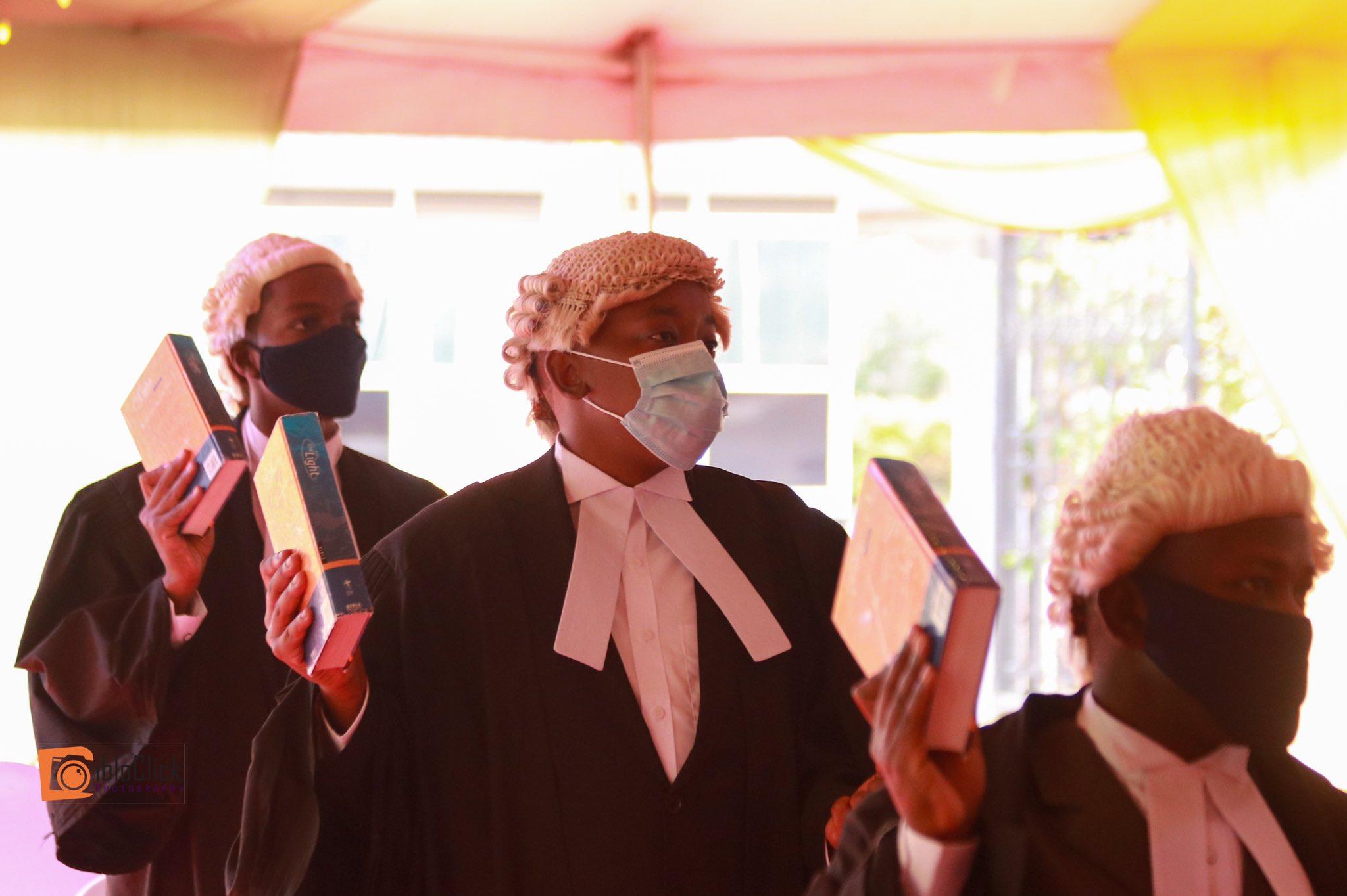Senator James Orengo's son Bob Orengo among 96 advocates admitted to the Bar (Photos)