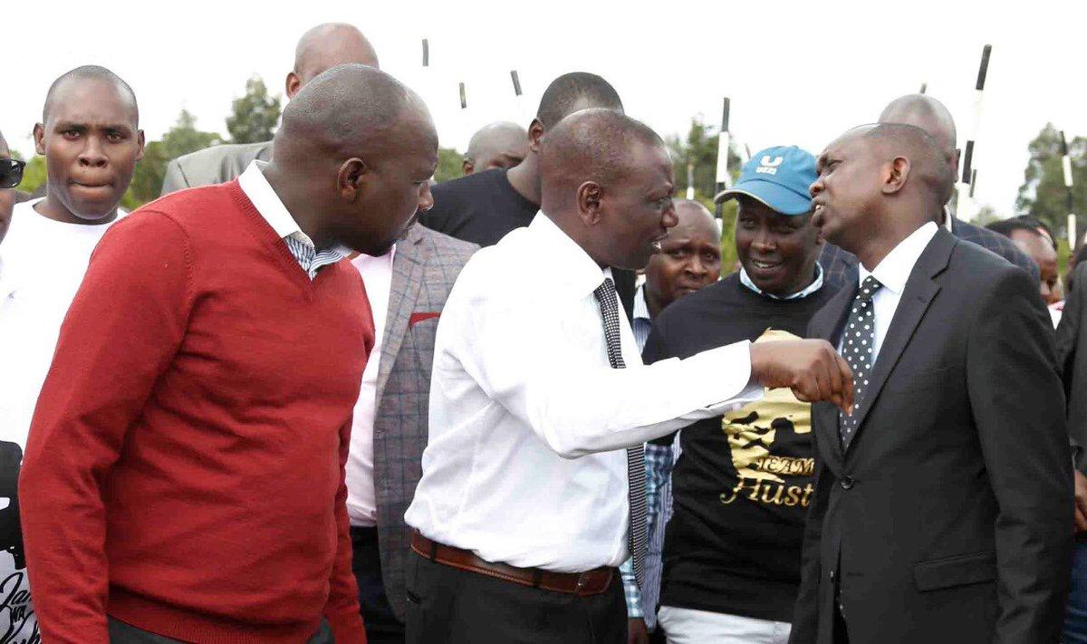 DP Ruto, Kipchumba Murkomen, Oscar Sudi and other leaders