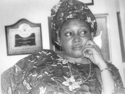 Kudirat, MKO Abiola's late wife, was sprayed with machine gun fire in Lagos (TELL)
