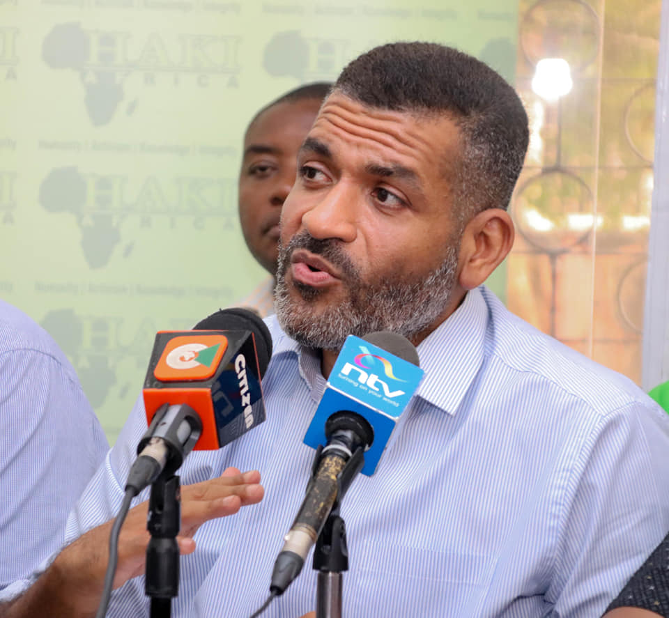 Mvita MP Abdulswamad Nassir who is also the National Assemby's Public Investments Committee chairperson.