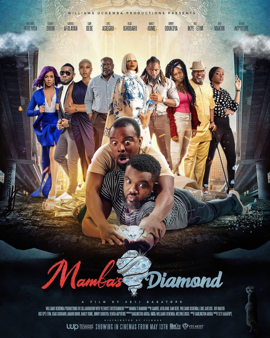 "Williams Uchemba Drops Trailer Of First Feature Film ""Mamba's Diamond"""