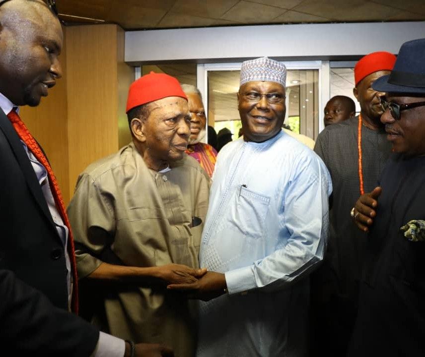 Image result for We didn't endorse Atiku, says Ohanaeze Ndigbo