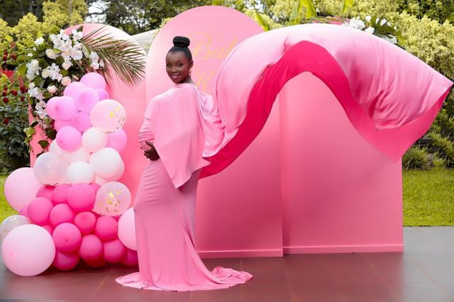 How Kate Actress gender reveal party went down (Photos/Video)