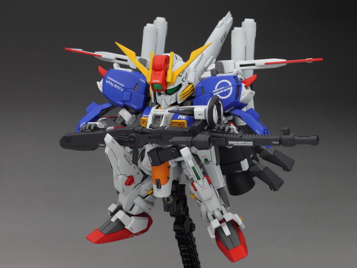 Remodel : MSA-0011[Ext] Ex-S Gundam (SD)   ocealos
