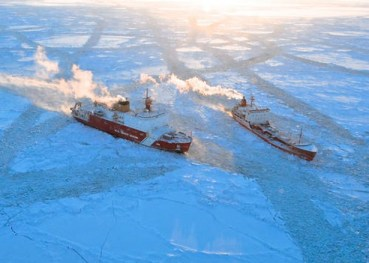Arctic Shipping Lanes, U.S. Coast Guard photo