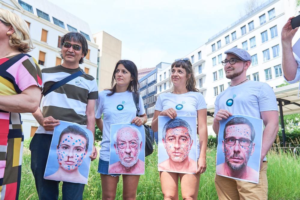 Ocean. Now! im Bundesministerium für Umwelt - Übergabe Petition an Svenja Schulze VII