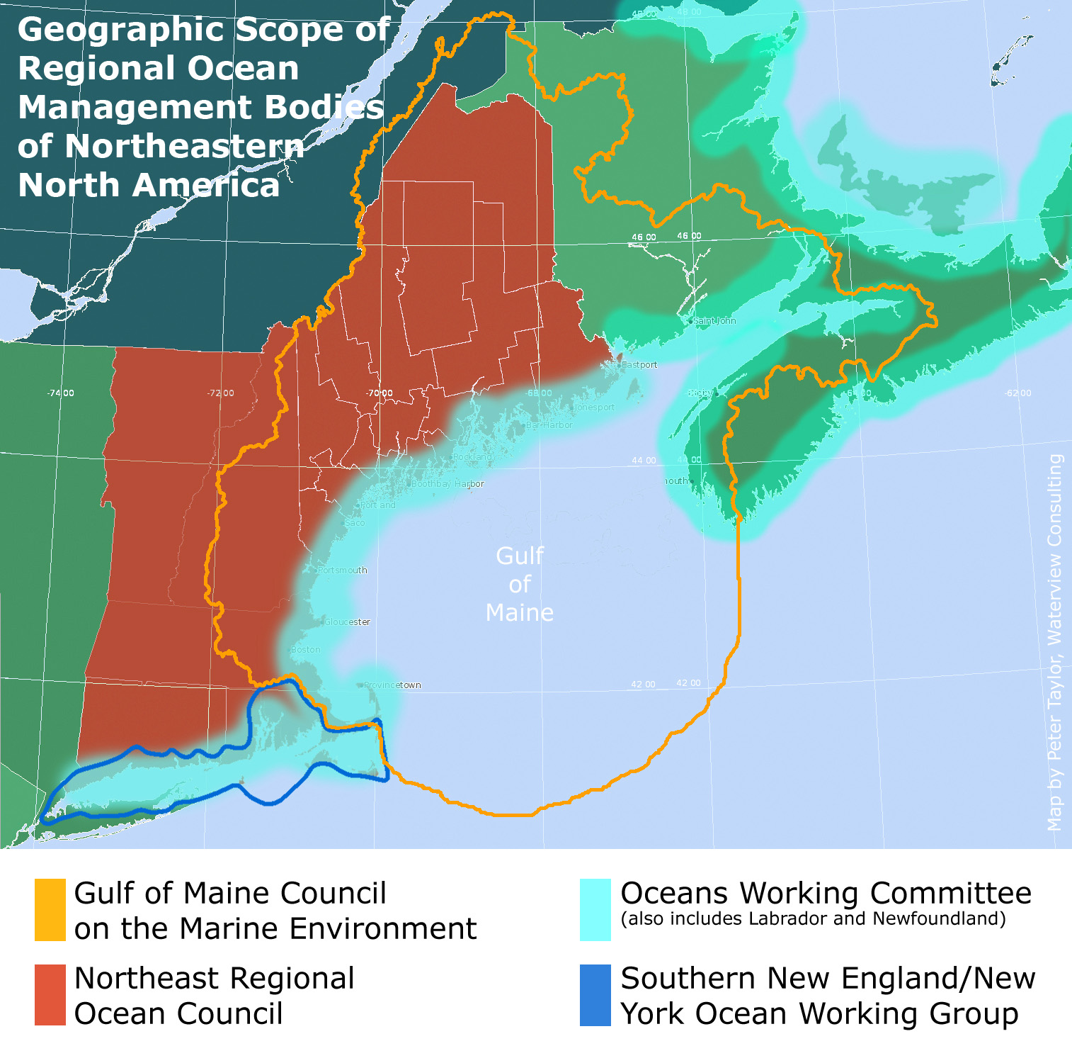 Update On Northeast Regional Ocean Council Nroc