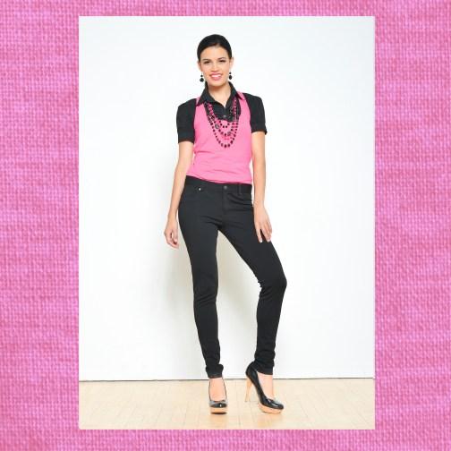 Ocean Avenue Pink Bamboo/Rayon Tank