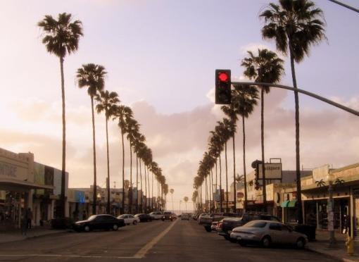 Newport Avenue Sunset