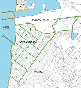 Ocean Beach Community Plan Area Map