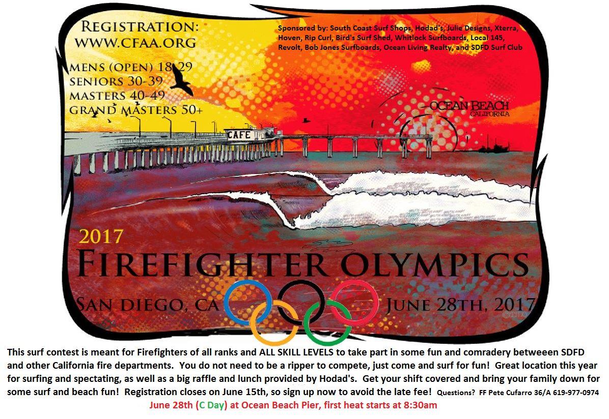 2017 firefighter olympics ocean