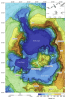 Figure 2. Combined high-resolution bathymetry and topographic LiDAR dataset.