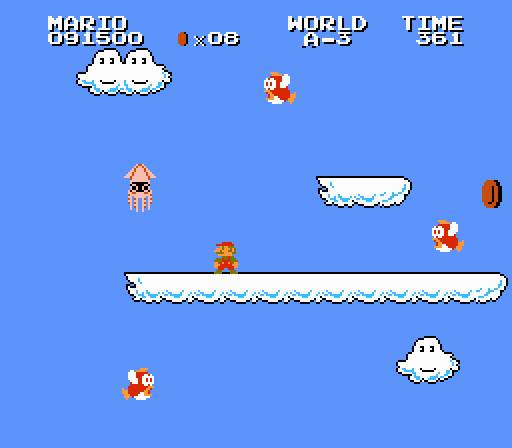 Figure 5: TL;DR Bloopers are real and Super Mario was right.