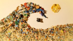 Fig. 1: An ocean filled with plastic (Photo: Plastic Shores).