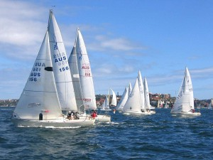Fig. 2. Sailboat Race in Sydney Harbour, Australia. Source: Wikimedia Commons