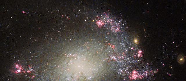 A mess of stars. Image credit: NASA Goddard Flight Center