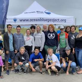 Ocean Cleanup Volunteers sponsored beach cleanups