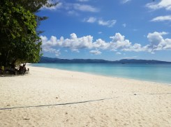 Boracay Island is now very beautiful after cleanup.