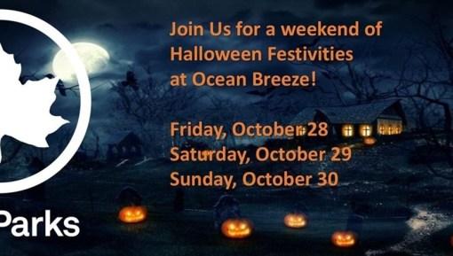 Halloween at Ocean Breeze