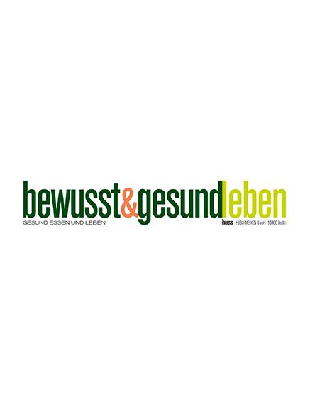 """Artikel in der """"bewusst&gesund leben"""" vom 17.05.2019"""