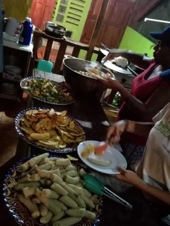 Buffet in Costa Rica