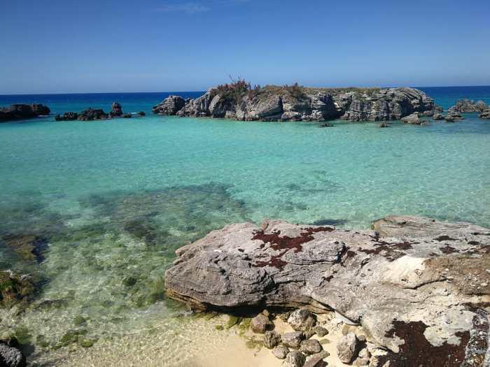 Bucht auf Bermuda