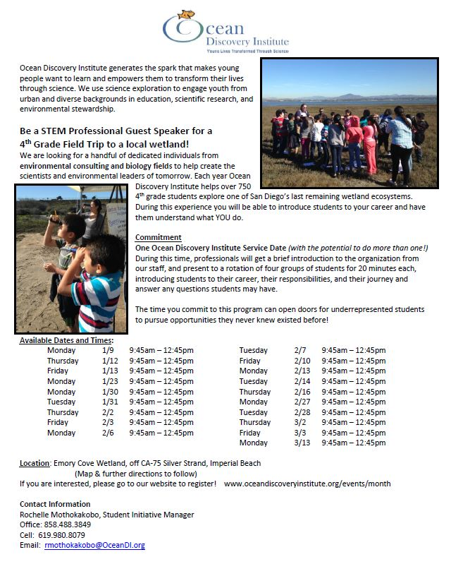 Aa Ose Stem Professionals 4th Flyer