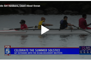 FOX5 Kids get outdoors with Ocean Discovery Institute