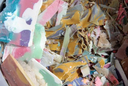 Too many soap scraps