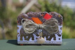 Carnival soap with Gold Elephants