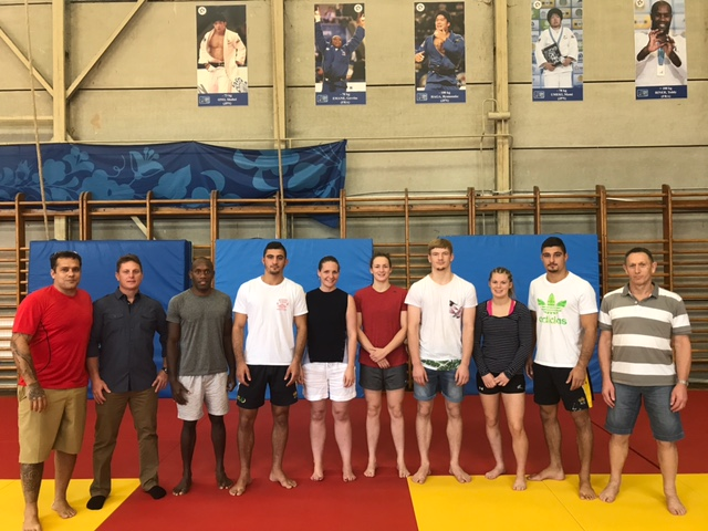 OJU President visits the IJF Training center