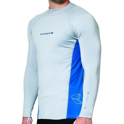 lavaskin long sleeve shirt grey