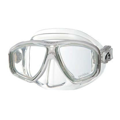 Diving Mask Ornata White