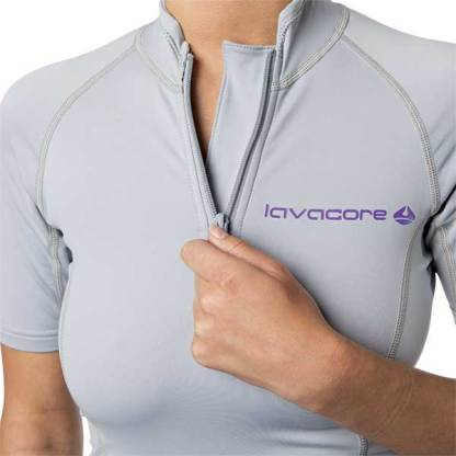 lavaskin short sleeve ladies grey
