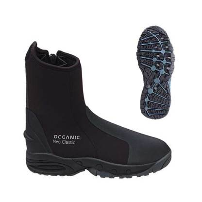 oceanic neoclassic dive boots
