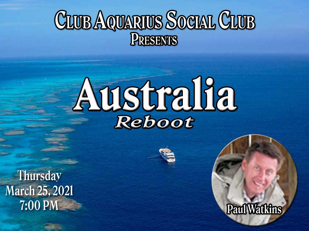 Club Aquarius Social Club – March 2021